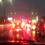 『雨で渋滞です。』の画像