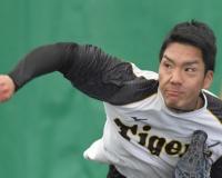 【阪神】小野 2・7紅白戦はオール直球勝負「真っすぐの質磨いて」ローテ争い勝ち抜く