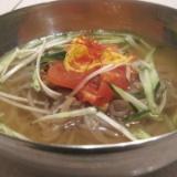 冷麺、ビビン麺のセール準備中のサムネイル