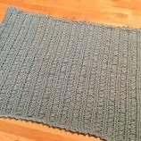 『ふたたびみたび「編み物ブーム」到来!ベビー用おくるみが完成\(^o^)/』の画像