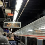 『フィラデルフィア旅行記1 アムトラックに乗ってニューヨークからフィラデルフィアへ移動』の画像