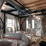 『内装壁パネルの設置【着工56日目】』の画像