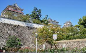 秋晴れの日 福山城公園をゆったり散策
