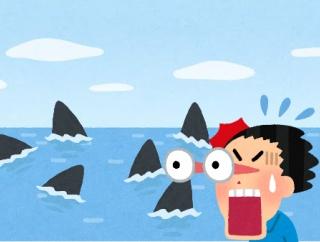 【動画】世界で2番目に大きなサメ「ウバザメ」の大群が撮影される 繁殖のため集まっている模様