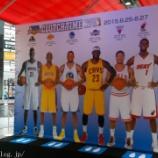 『NBA CLUTCH TIMEトロフィーツアーでチャンピオントロフィーを見てきた』の画像
