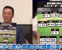 前阪神監督金本と新井が選ぶ野手ベストオーダー
