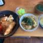 鯛の煮付けセットー!! +100で白米をなめこの炊き込みご飯...