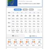 『【台風措置】困った台風です』の画像