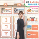 『良原安美アナ セクシーニットの横乳!【GIF動画あり】』の画像
