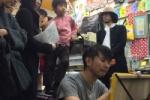 東京から小田島さんが来て『ぽんぽんぽん』でライブペインティングがあったよぽん!