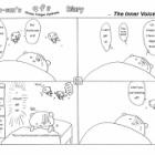 『Kuma-san's CFS Diary【The Inner Voice】by Yurari   ゆらりさん作・くまさんのCFSつれづれ日記【心の声】{#30}』の画像