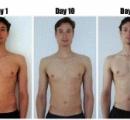 【画像】1日6000キロカロリー食べて太らなかった男が凄すぎるwwwwww 逆にウエスト3センチ減ったwwwwwww