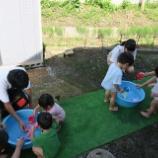 『水遊び』の画像
