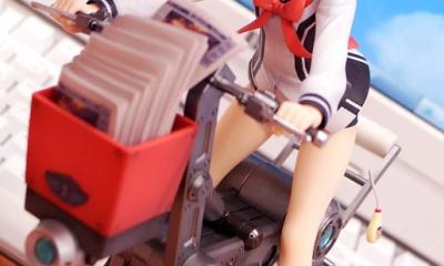 【フィギュア】「わんこ」に乗って新聞配達!1/8スケール「一色あかね」で遊んでみた!