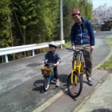 『自転車で駆ける』の画像