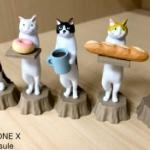猫ラボの人気の「ねこのパン屋さん」が可愛すぎるフィギュアになってガチャに登場!