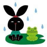 『雨やん☂せっかくの入学式なのに・・・』の画像