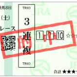 『【競馬】今日は絶好調!(+6,170円)』の画像