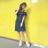 『[イコラブ] 瀧脇笙古「オフショルとかわいいサンダル…」』の画像