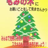 『戸田市後谷公園まちかど広場にもみの木が置かれました!』の画像
