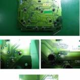 『スズキ パレット エアコンパネルのLED交換(LED打ち替え)&回路修復大手術』の画像
