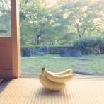 【画像】緑豊かな縁側にバナナがひょっこり!「バナナをいい感じの場所で撮った写真」がヤバいwwwww