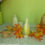 『陶芸作品展示のお知らせ』の画像