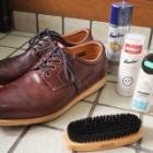 『防水革靴の手入れ その2 | Leather Shoes Maintenance Part 2【Hawkins -TR IT LW OX HL82002】』の画像