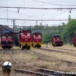 『▲5並び~炭鉱電車そろいぶみ』の画像