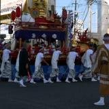 長崎くんちで宝船と巨大客船を見ました