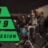 『【WGI】ドラム大会ロット! 2019年ブロークンシティ『イン・ザ・ロット』大会本番前動画です!』の画像