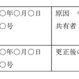 『③不動産の持分更正登記(所有権更正登記後の登記識別情報の通知)』の画像