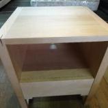 『【お客様設定のフルオーダー家具】バーチ材のコンパクトサイズのオリジナルTVボードが入荷』の画像