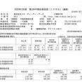 NTTデータ 2020年3月期第2四半期決算
