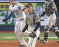 阪神ルーキー小川が2番手で炎上 悔し涙の初登板に続きまたも5失点