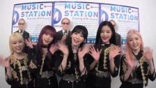 咲良が黒髪ロング&仁美がピンク髪に IZ*ONEが「Mステカメラ」に登場