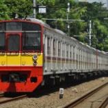 『さよならトップナンバー!!203系常磐線マト69編成組成変更』の画像