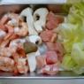 海老と鶏むね肉のパルメジャーノ炒め(無ければ粉チーズで)&久しぶりの洋食屋さん