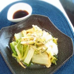 白菜の香り蒸し