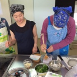 『【福岡】1・2年生にとって今年初の調理実習』の画像