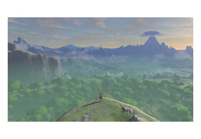ゼルダの綺麗な風景の画像ください!