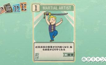 Fallout 76:Martial Artist(Strength)