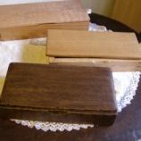 『木の箱』の画像