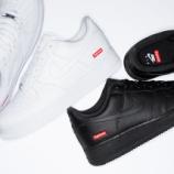 『7月18日再販予定 Nike Air Force 1 x Supreme』の画像