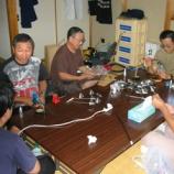 『2003年 9月14日 アンテナ制作会:弘前市・鍛冶町消防屯所』の画像