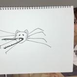 『可愛いけどwww 清宮レイさん、とんでもないバケモノを描いてしまうwwwwww』の画像