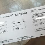 『アシアナ航空 搭乗記[仁川→成田]』の画像