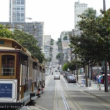 『サンフランシスコ旅行記17 テイラー通りから乗ったら空いてたのでケーブルカーを堪能できた』の画像