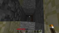 トラップタワー直下掘りで初大空洞に遭遇
