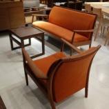 『【2013年ボーナスセール・私の「気になる家具」】飛騨高山SWING社のブラックウォールナット材のソファセットが380000円・WS1』の画像